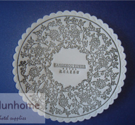 Hotel paper tissue cup coaster