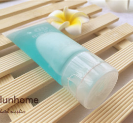 Hotel cosmetic 30ml tube with normal printing