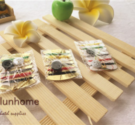 Wholesale hotel 6 threads sewing kit