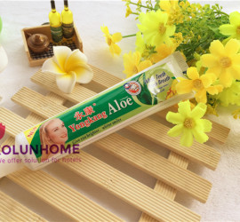 2015 New Aloe whitening personal care toothpaste