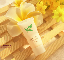 30ml Hotel guestroom recyclable shampoo tube