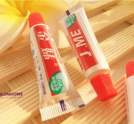 Cheap and disposable 5g hotel toothpaste