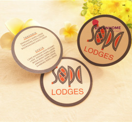 Hot selling hotel cup coaster